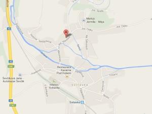 Mapa adresy